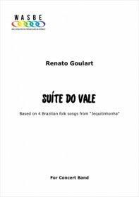【吹奏楽 楽譜】<br>渓谷の組曲 <br>作曲:ヘナート・グラート