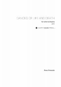 【吹奏楽 楽譜】<br>生と死の踊り <br>作曲:ロス・エドワーズ