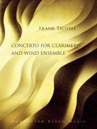 (楽譜) クラリネット協奏曲 / 作曲:フランク・ティケリ (吹奏楽)(フルスコアのみ)