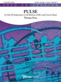 (楽譜) ユーフォニアム協奏曲「パルス」 / 作曲:トーマス・ドス (吹奏楽)(スコア+パート譜セット)