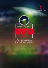 (楽譜) UFOコンチェルト / 作曲:ヨハン・デメイ (吹奏楽 ユーフォニアム 協奏曲)(スコア+パート譜セット)