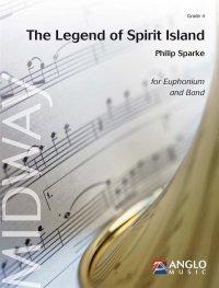(楽譜) スピリット島の伝説〜ユーフォニアムとバンドのための / 作曲:フィリップ・スパーク (吹奏楽)(スコア+パート譜セット)