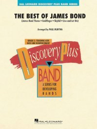 (楽譜) ベスト・オブ・ジェームズ・ボンド / 編曲:ポール・マーサ (吹奏楽)(スコア+パート譜セット)