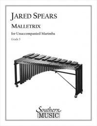 (楽譜) マレットリックス / 作曲:ジャレッド・スピアーズ (マリンバ)