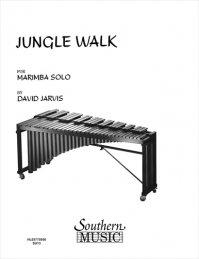 (楽譜) ジャングル・ウォーク / 作曲:デヴィッド・ジャービス (マリンバ)
