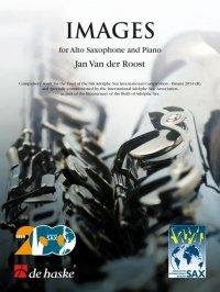 (楽譜) 映像 / 作曲:ヤン・ヴァンデルロースト (アルト・サクソフォーン&ピアノ)