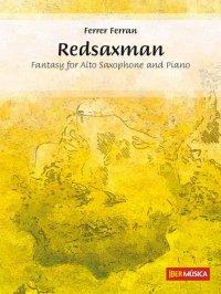 (楽譜) レッドサックスマン / 作曲:フェレール・フェラン (アルト・サクソフォーン&ピアノ)