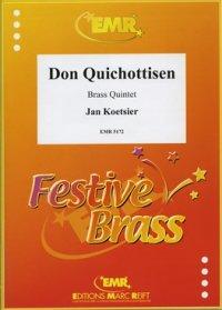 (楽譜) ドン・キホーティッセン / 作曲:ヤン・クーツィール (金管5重奏)