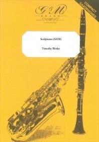 (楽譜) スカルプチャーズ / 作曲:ティモシー・ブリンコ (サクソフォーン4重奏)
