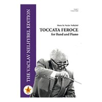 (楽譜) トッカータ・フェローチェ / 作曲:ヴァーツラフ・ネリベル (吹奏楽)(スコア+パート譜セット)