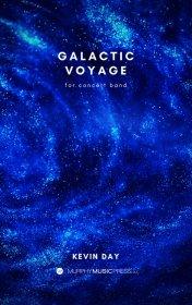 【吹奏楽 楽譜 スコアのみ】<br>銀河の航海 <br>作曲:ケヴィン・デイ<br>