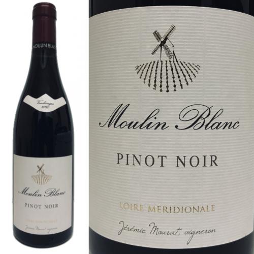 ムーラン・ブラン ルージュ ピノ・ノワール 2018 Domaine Mourat Moulin Blanc Pinot Noir 2018