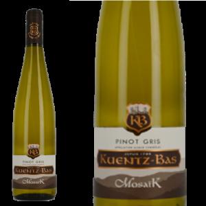 ピノ・グリ モザイク クンツ・バー 2015 Kuentz-Bas Pinot Gris Mosaik 2015