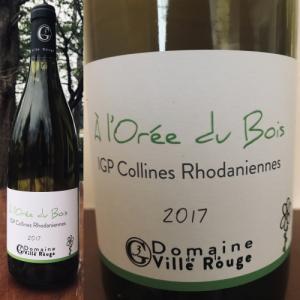 IGP コリンヌ・ローダニエンヌ 白 ロレ・デュ・ボワ 2017 Collines Rhodaniennes White A l'Orée du Bois 2017