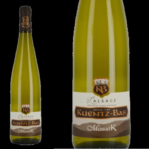 アルザス モザイク クンツ・バー 2018 Kuentz-Bas Alsace Mosaik 2018