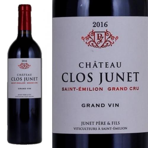 サン・テミリオン グラン・クリュ シャトー・クロ・ジュネ 2016 Chateau Clos Junet Saint-Emilion Grand Cru 2016