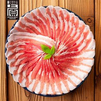 県産ブランド豚あぐー バラしゃぶしゃぶ用(500g)