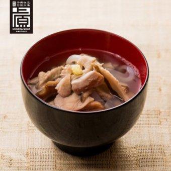 あぐーの中味汁(2〜3人前)