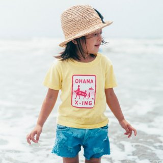 OHANA X-ING (Crossing) キッズTシャツ