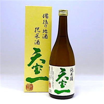 米の旨み キレのある 広島県 備後の酒 天宝一 純米酒 720ml