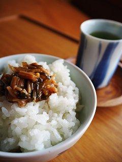 野沢菜なめ茸 160g