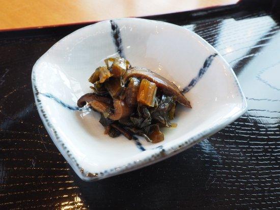野沢菜と椎茸の旨煮