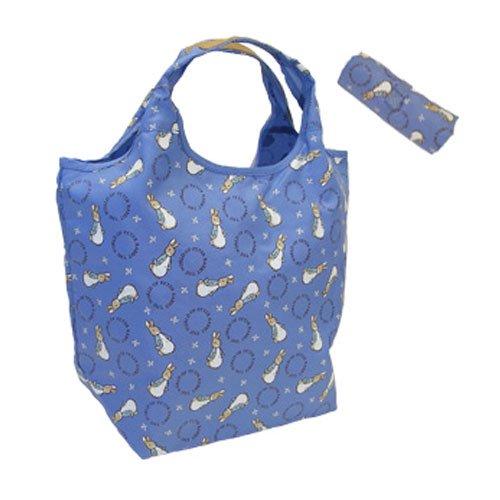 ピーターラビット ショッピングコンパクトバッグ(ブルー) #0634