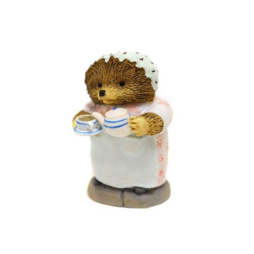 ピーターラビット Enesco BP ミニフィギュア(Mrs.Tiggy-winkle Pouring Tea) A2351