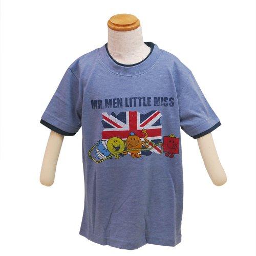 ミスターメンリトルミス 【生産終了品】 キッズレイヤードTシャツ(ブルー)120 642MR0031