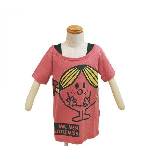 ミスターメンリトルミス 【生産終了品】 キッズフェイクTシャツ(ピンク)110 642MR0041