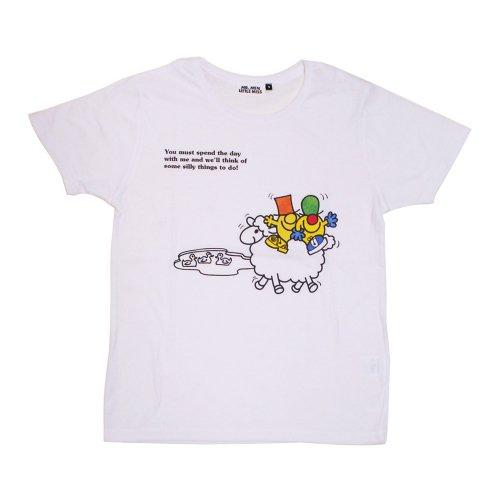 ミスターメンリトルミス レディースTシャツ(シリー&ナンセンス)S MR-7975