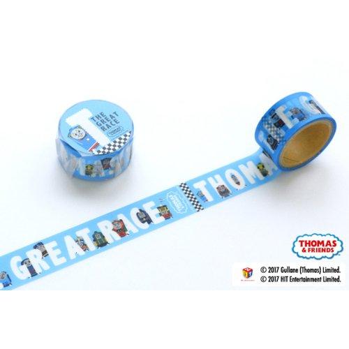 きかんしゃトーマス マスキングテープ(The Great Race オールスター) KT00004-16