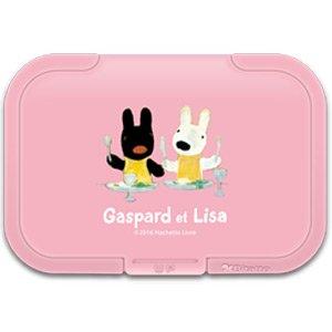 リサとガスパール ウェットシートふた Bitatto (ピンク)
