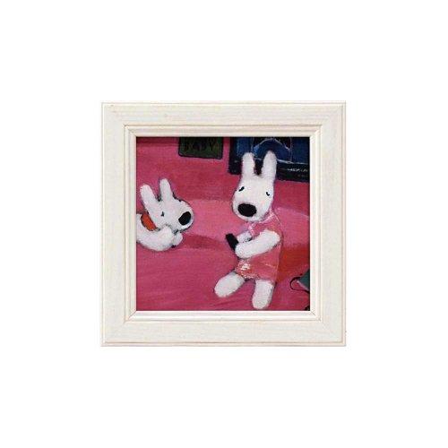 リサとガスパール ミニアートフレーム「ビクトリアの部屋」 GL-00661
