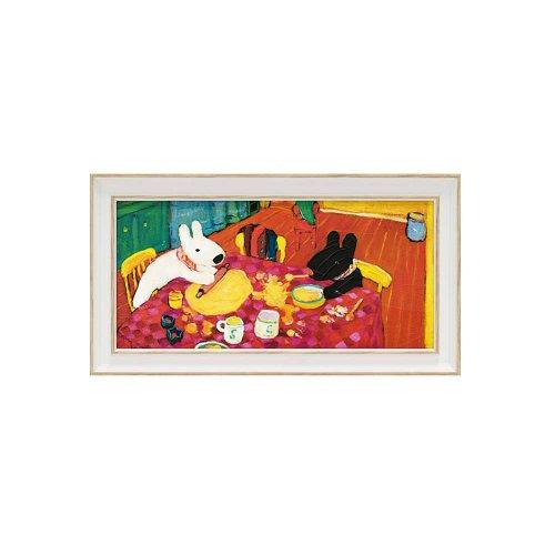 リサとガスパール ミュージアムフレーム(おかしづくり)Sワイド GL-03557