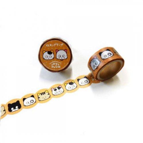 タマ&フレンズ マスキングテープ(Tama&Frends) TM-MK-001
