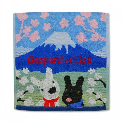 リサとガスパール ウォッシュタオル(富士の麓) 5205000700