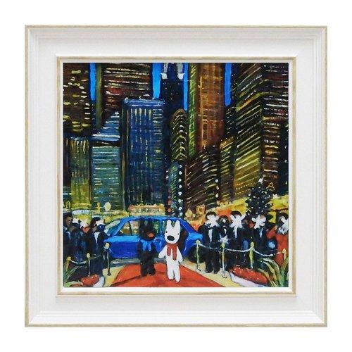 リサとガスパール アートフレームM「ニューヨークの夕べ」 GL-05810