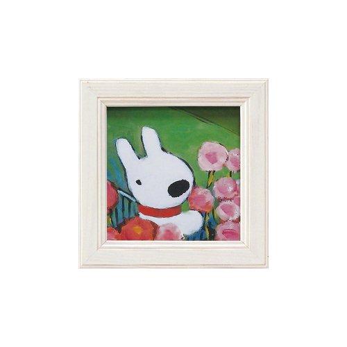 リサとガスパール ミニアートフレーム「ママへプレゼント」 GL-00653