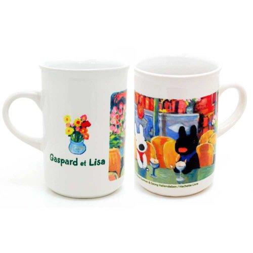 リサとガスパール マグカップ スリムタイプ(カフェ)