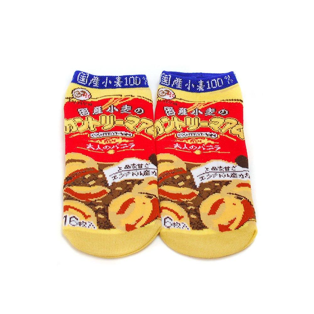 キャラコ カントリーマアム お菓子ソックス(不二家お菓子雑貨) JGS0022 PK