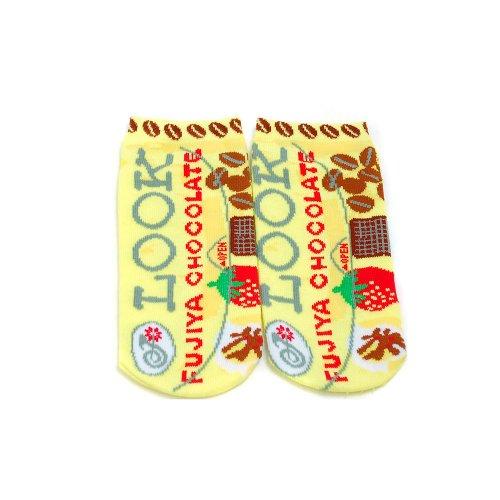 ルック チョコレート お菓子ソックス(不二家お菓子雑貨) JGS0023 PK