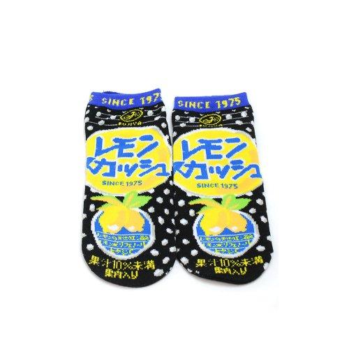 レモンスカッシュ お菓子ソックス(不二家飲料雑貨) JGS0026 PK