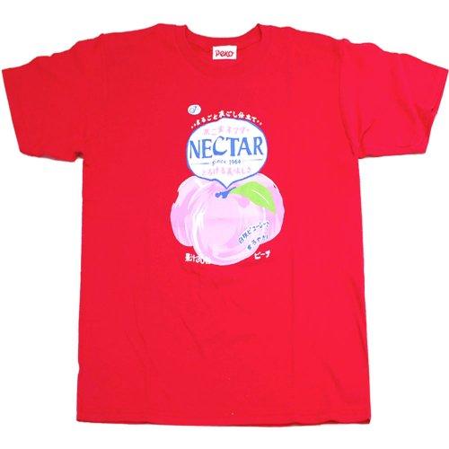 不二家ネクター Tシャツ RD (不二家飲料雑貨) PE-1212 PK