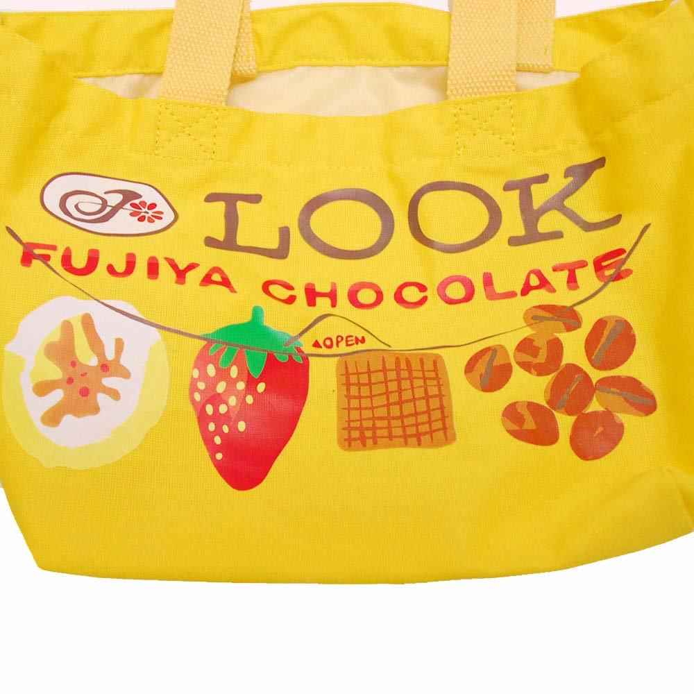 キャラコ ルック チョコレート ランチトート LOOK (不二家お菓子雑貨) PE-1216 PK