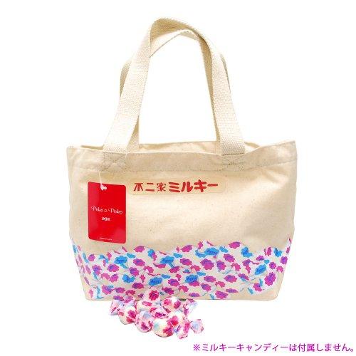 ペコちゃん ミルキー(キャンディー) ランチトート (不二家お菓子雑貨) PE-1218 PK
