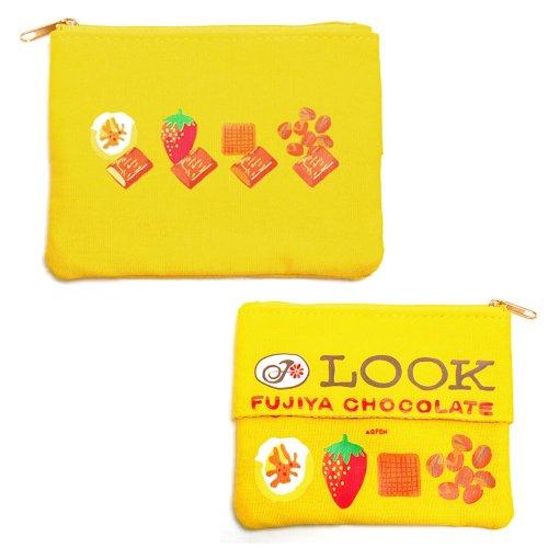 ルック チョコレート ティッシュポーチ LOOK (不二家お菓子雑貨)PE-1219 PK