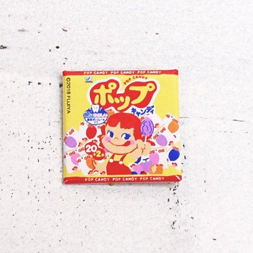 ペコちゃん ポップキャンディ 缶バッジ (不二家お菓子雑貨) PE-1223 PK