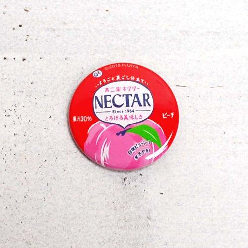不二家ネクター 缶バッジ (不二家飲料雑貨) PE-1226 PK
