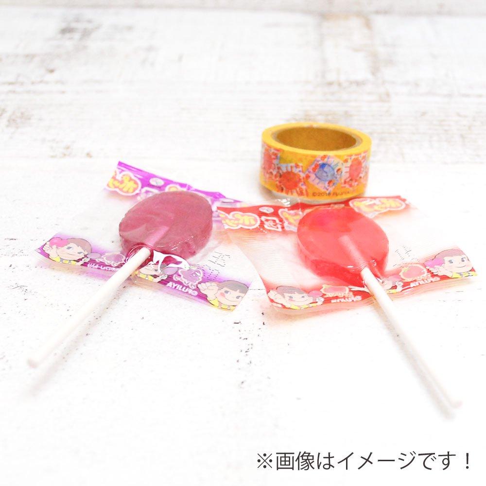キャラコ ペコちゃん ポップキャンディ マスキングテープ (不二家お菓子雑貨) PE-1240 PK